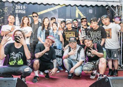 2015台北西門第四屆 MADSTREET 狂熱街頭 饒舌爭霸戰